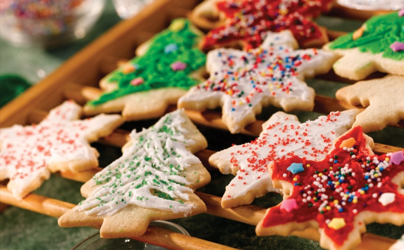 Santa's Cookies: Easy vs.Ornate