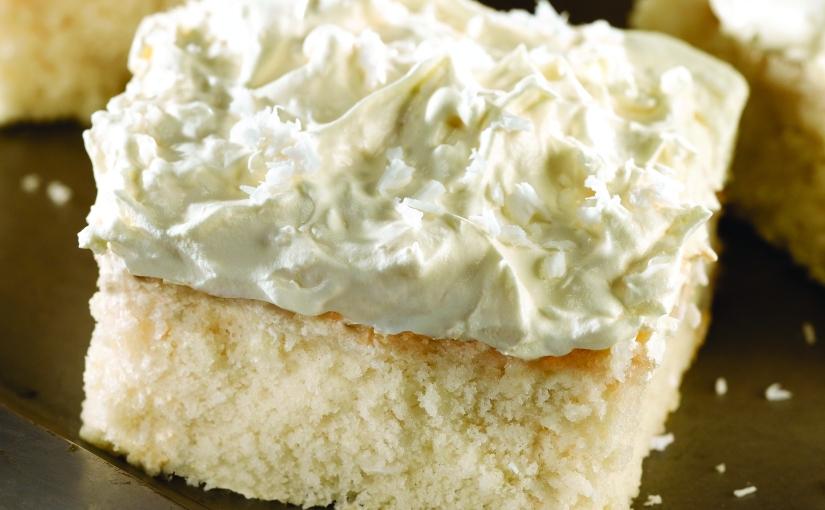 Easy Coconut Cakes for EasterDinner