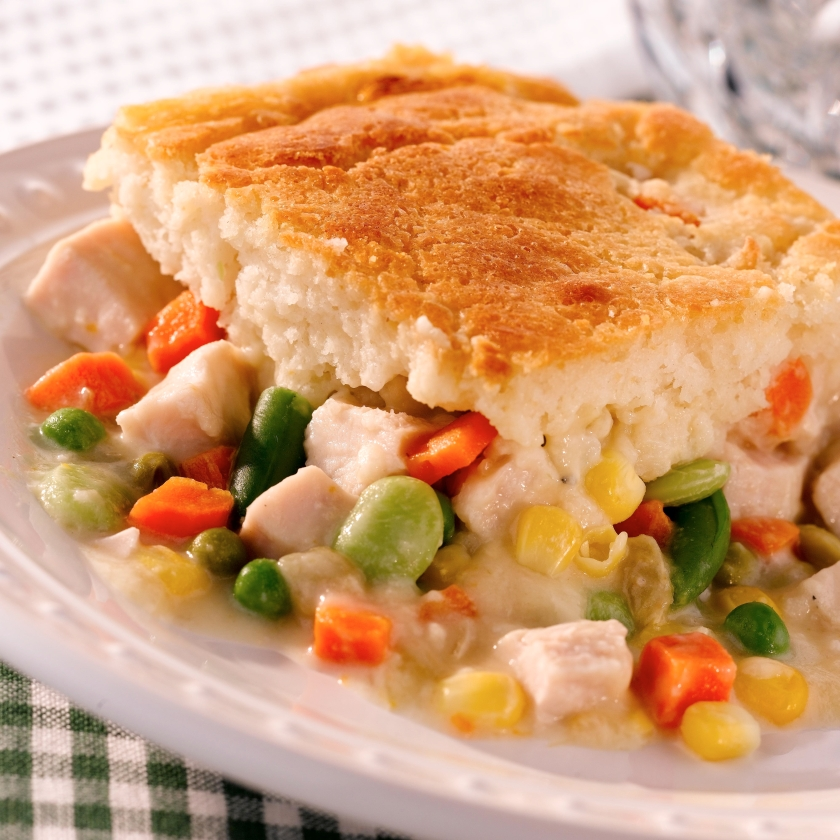 Easy Pickin' Chicken Pie