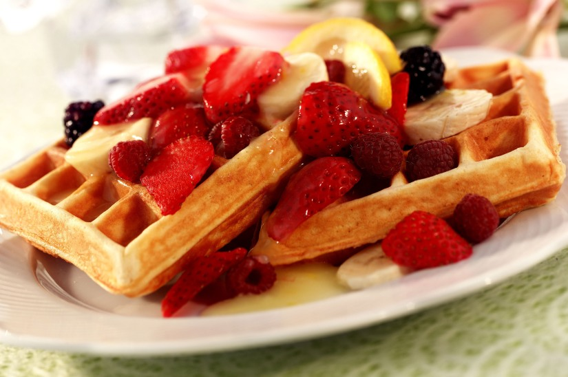 Wonderful Waffles for a Casual Summer Brunch
