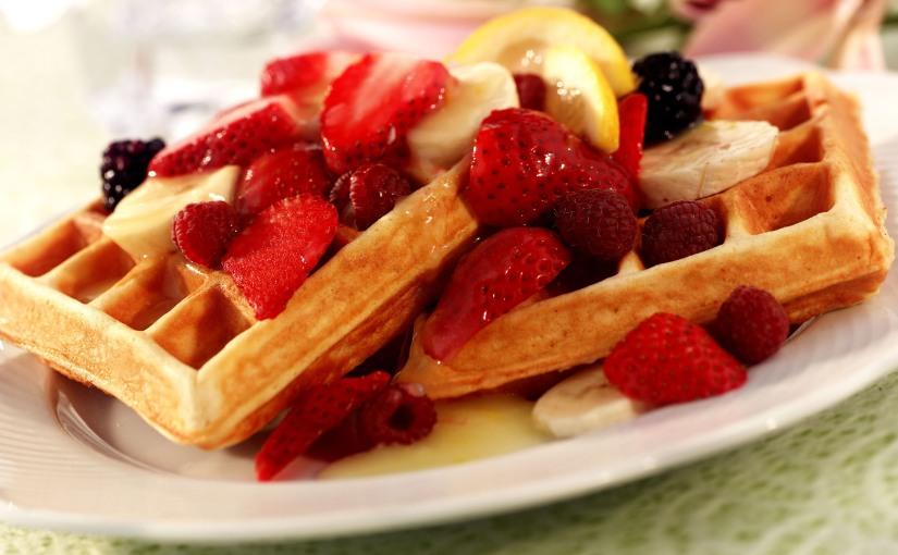 Wonderful Waffles for a Casual SummerBrunch
