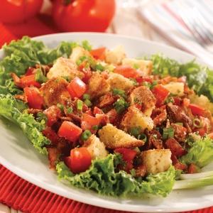 BLT Cornbread Salad