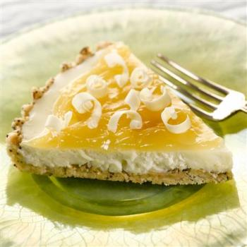 Luscious Lemon White Chocolate Tart