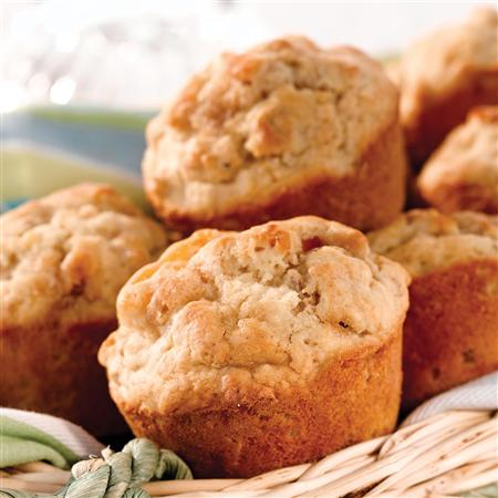 Homemade Oat and Apricot Muffins