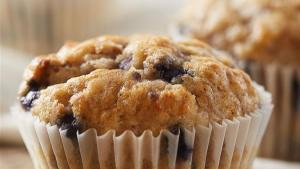 Gluten Free* Blueberry Banana Muffins