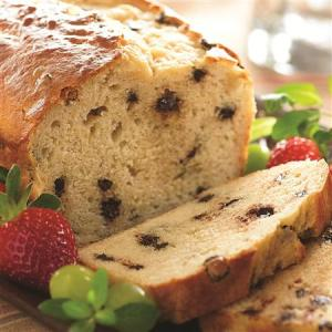 Chocolate Chip Sour Cream Snack Loaf
