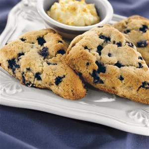 04 Blueberry Scones with Orange Cream Cheese