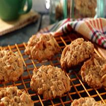 peanut butter oatmeat cookies