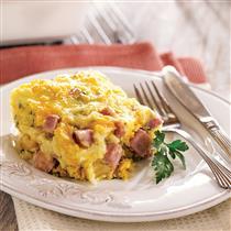 Country Breakfast Cobbler