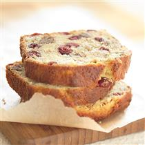 Cranberry Walnut Banana Bread