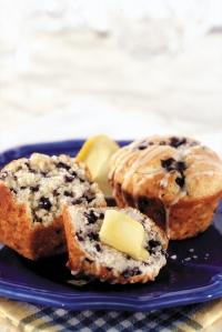 2676 MW luscious lemon blueberry muffins