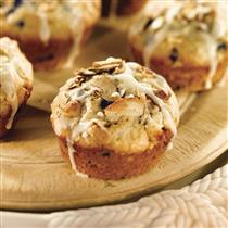 blueberry white chocolate macadamia muffins
