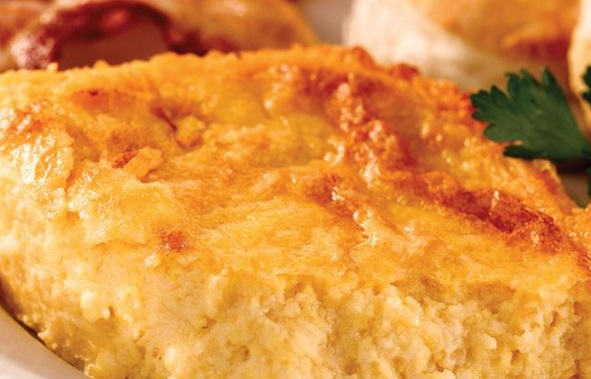 Garlic Cheese Grits Casserole