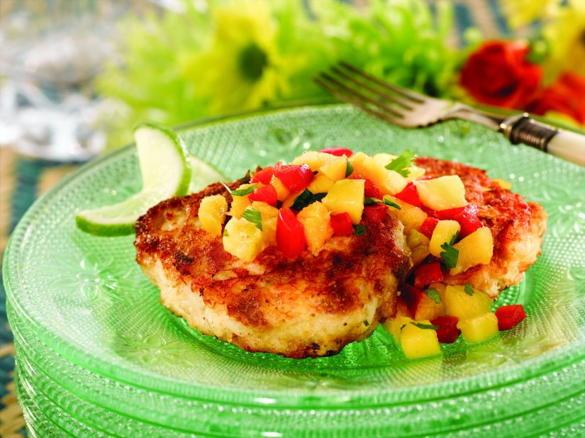 Caribbean Cornbread Crab Cakes for a Perfect Summer Supper