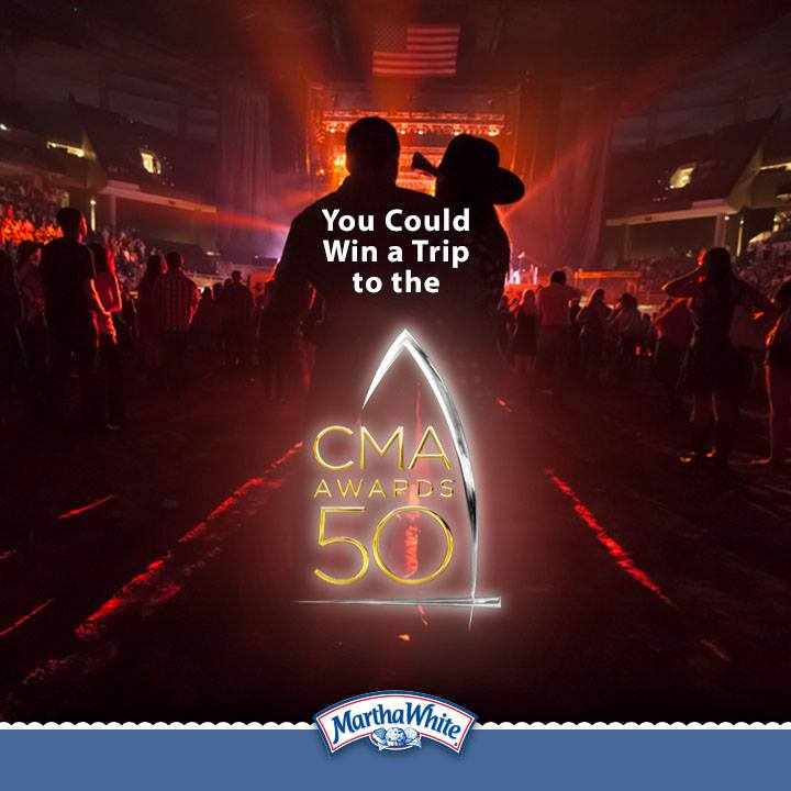 Win a Trip to the 50th Annual CMA Awards in Nashville