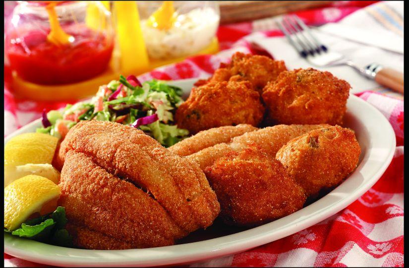 Fried Breaded Fish