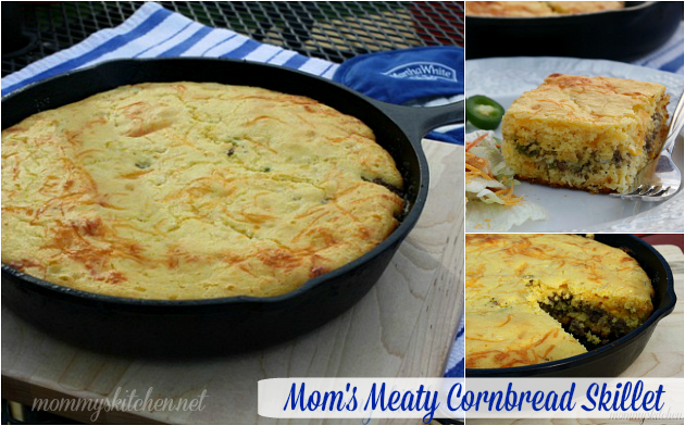 mommys-kitchen-moms-meaty-cornbread-casserole-6